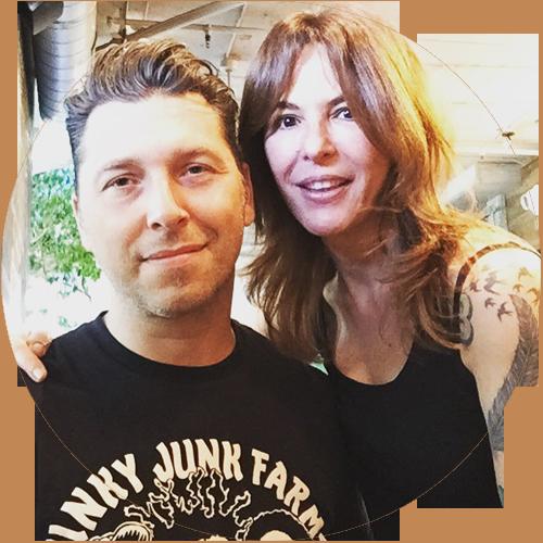 Steven (aka Stevie C.) & Gili Carlson